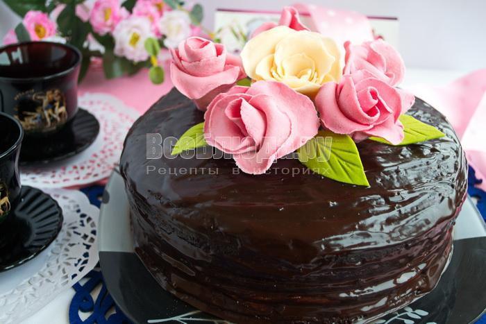 рецепт торт тающее чудо видео