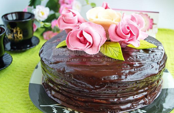 как приготовить торт тающее чудо пошаговый рецепт