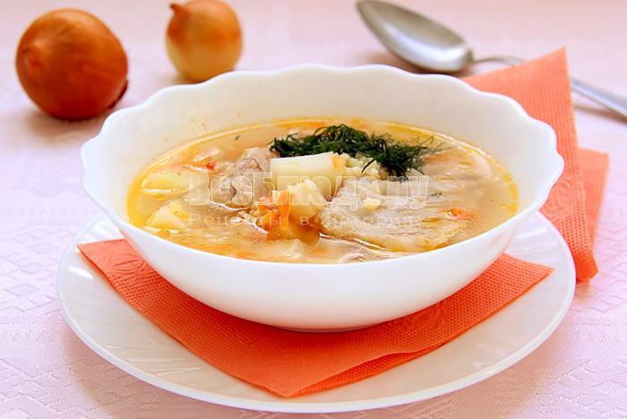 рецепт супа с пшеном