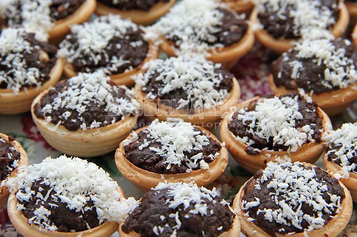 рецепт фаджа с орехами в тарталетках