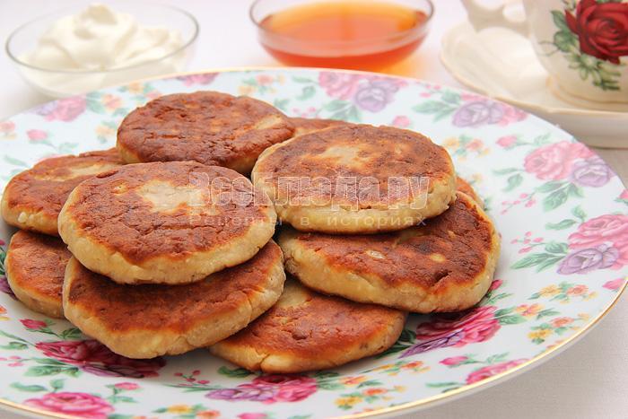 как приготовить сырники с грецкими орехами