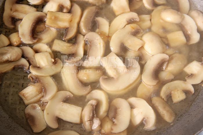 жарю грибы