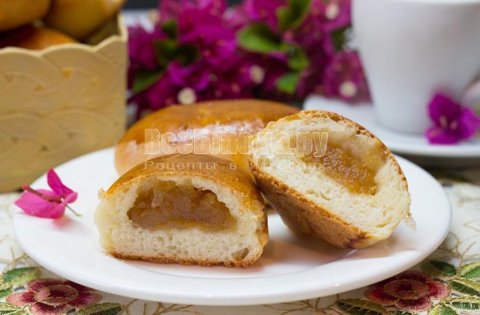 рецепт пирожков с повидлом