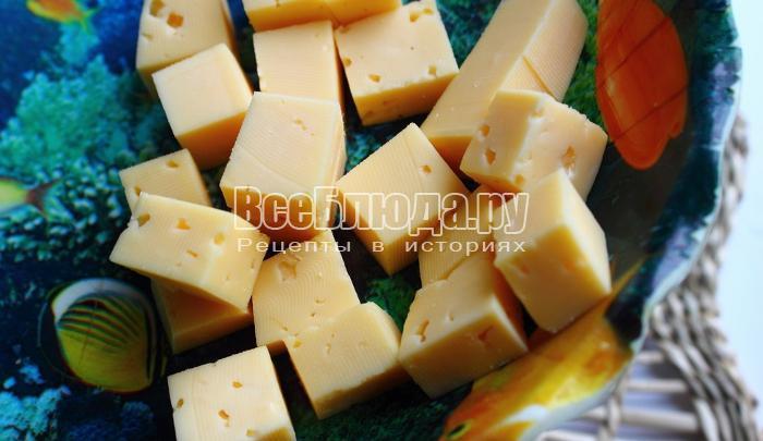 порезать сыр