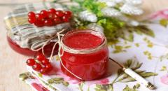 Холодное варенье из красной смородины