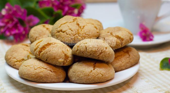 Печенье с крахмалом без яиц