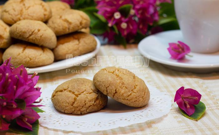 как приготовить печенье без яиц с крахмалом