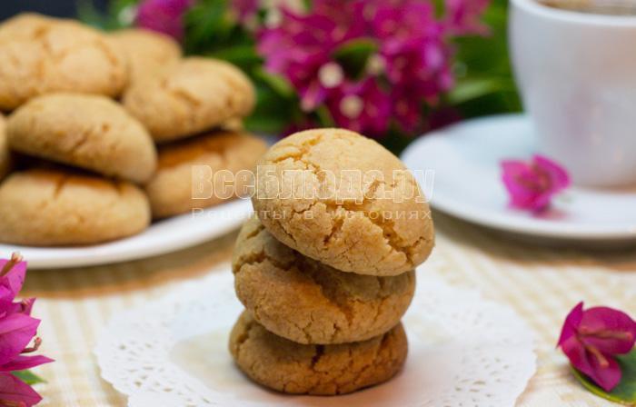 рецепт простого печенья на крахмале