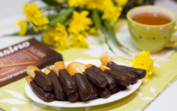 Печенье Палочки в шоколаде