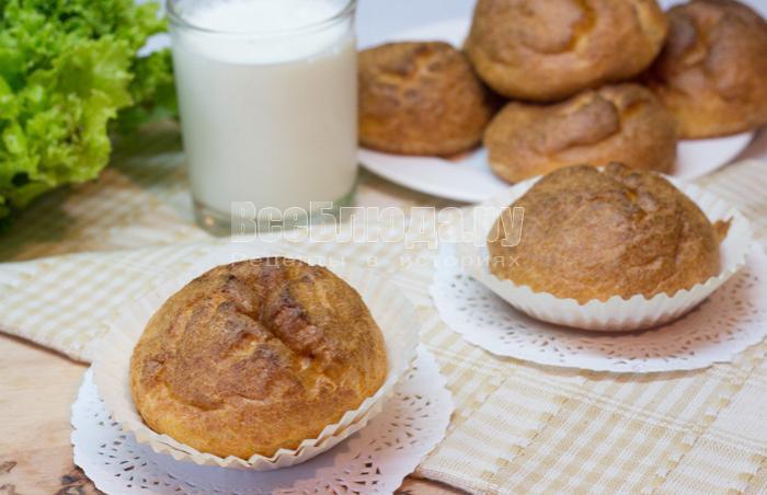 рецепт булочек из блинного теста