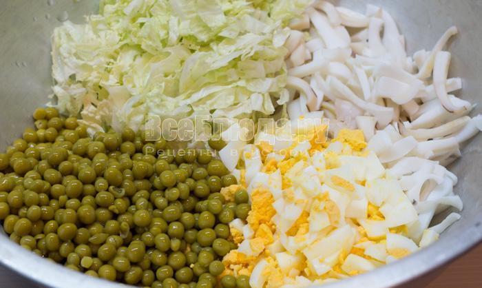 як зделать салат с капусты