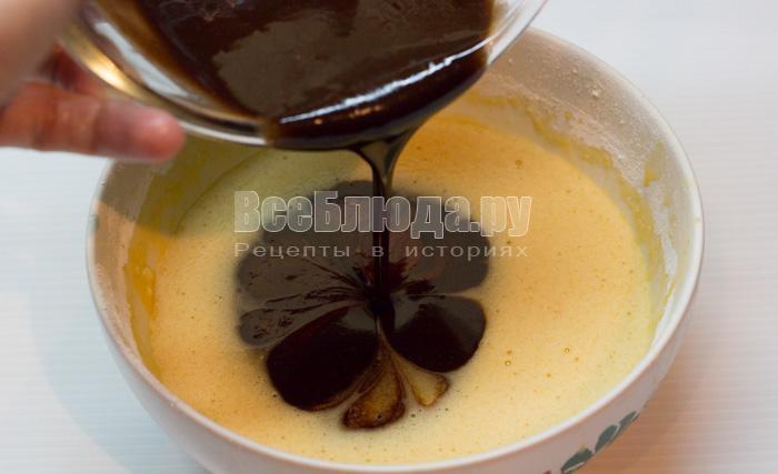 Жидкий шоколад рецепт с пошагово
