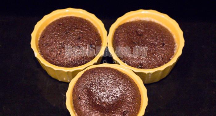 выпекать пирожные