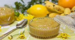 Банановый джем с апельсиновым и лимонным соком
