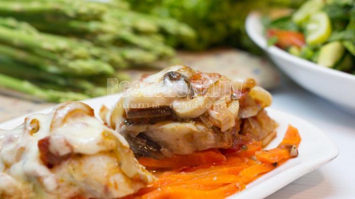филе рыбы запеченное в духовке, рецепт с фото