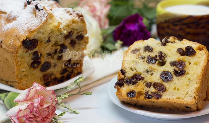 как приготовить вкусный кекс, тесто на кефире