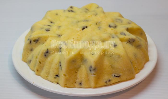рецепт кекса в микроволновке