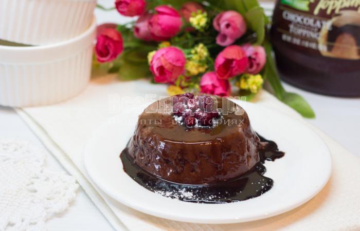 Панакота шоколадное рецепт с пошагово в