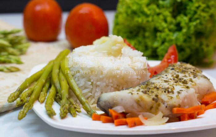 как вкусно приготовить рыбу с овощами в духовке