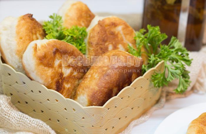 как приготовить вкусные жареные пирожки с картошкой