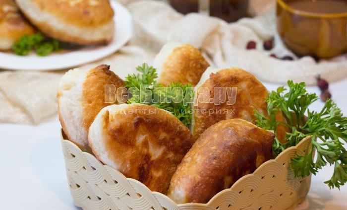 рецепт пирожков с картошкой на сковороде