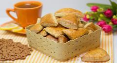 Постное печенье на рассоле без яиц