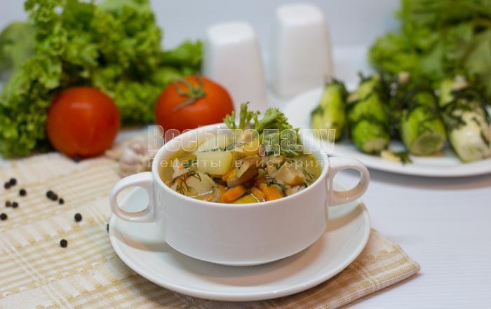 готовая картошка с шампиньонами