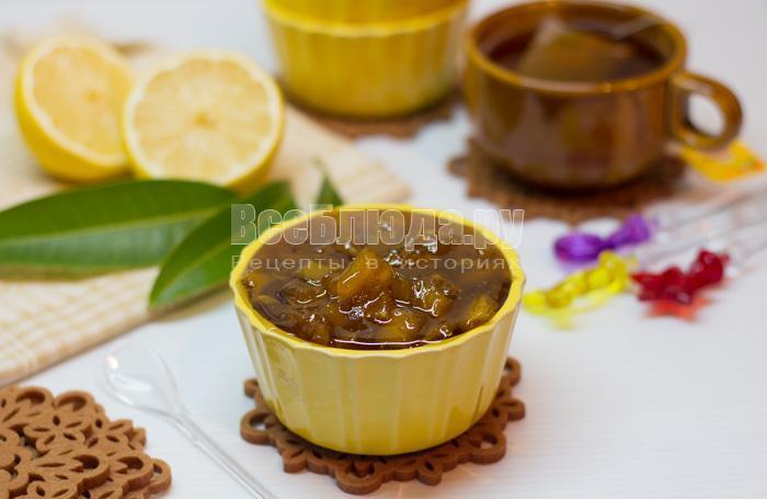 готовое варенье из манго