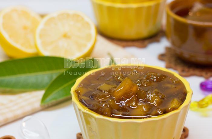рецепт варенья из манго с фото