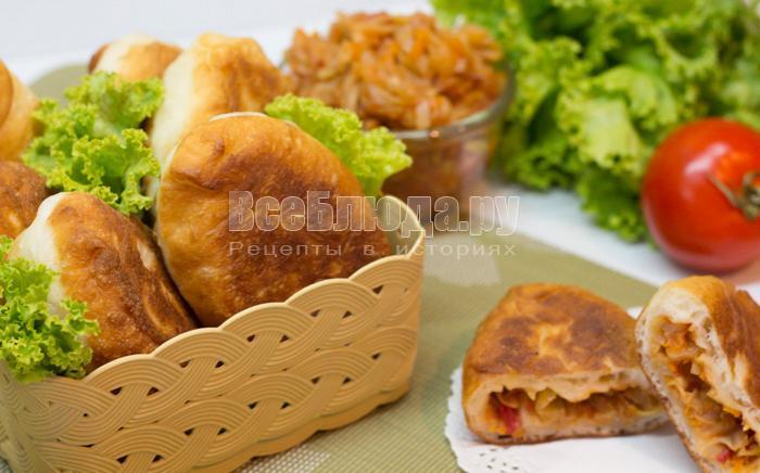 пирожки из заварного теста, рецепт с фото