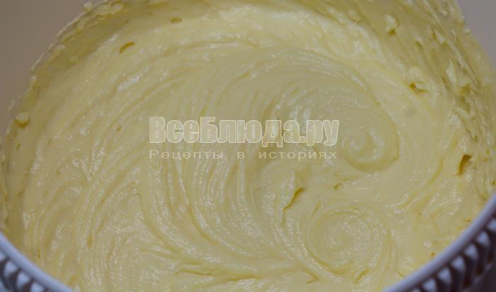 готовый маслянно-заварной крем