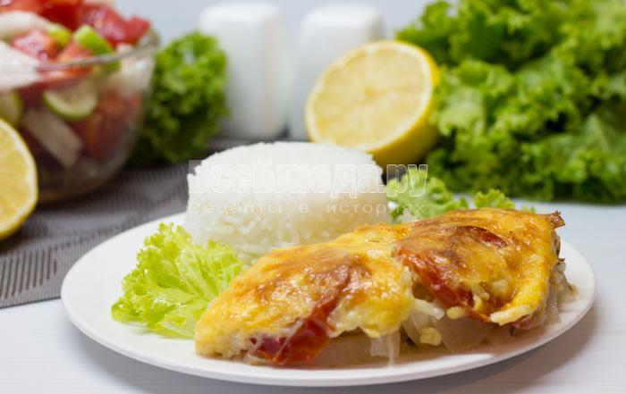 рецепт морского окуня, запеченного в духовке