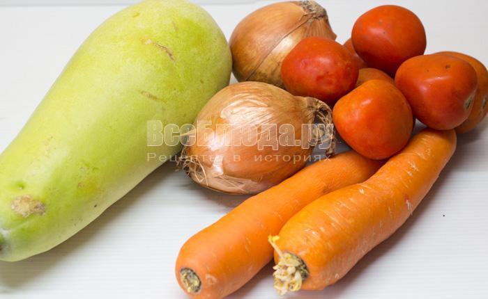 продукты для икры из кабачков