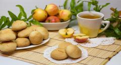 Песочное печенье с манкой