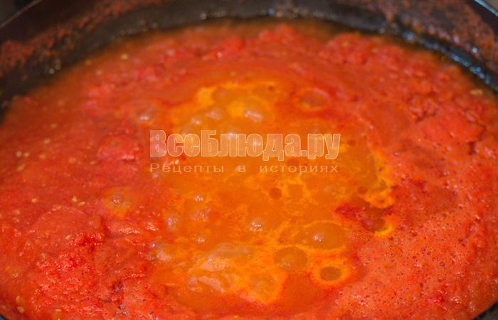 уварить томатный соус