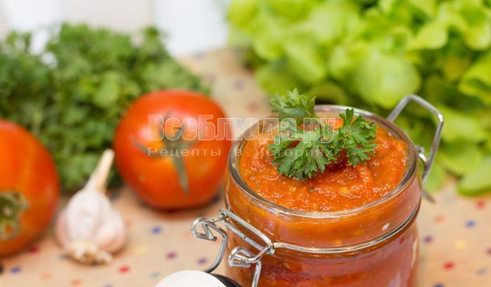 томатный соус дома