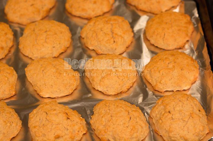выпекать печенье из овсянки