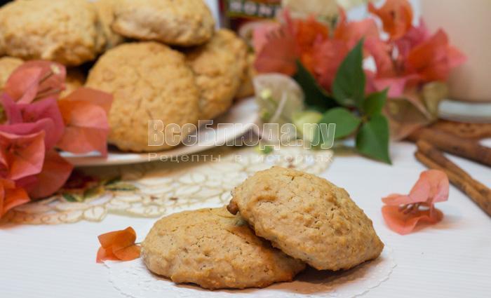рецепт овсяного печенья с фото