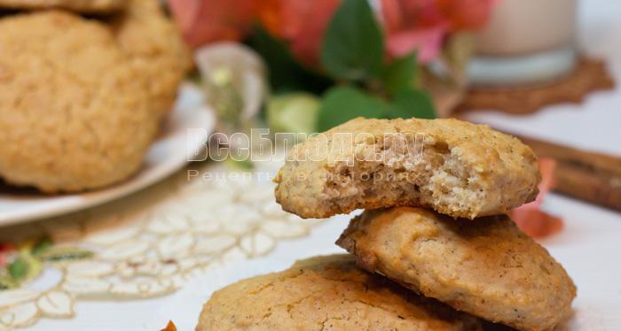 как приготовить печенье из овсянки