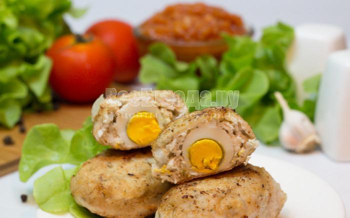 рецепты котлет из куриного фарша с яйцом