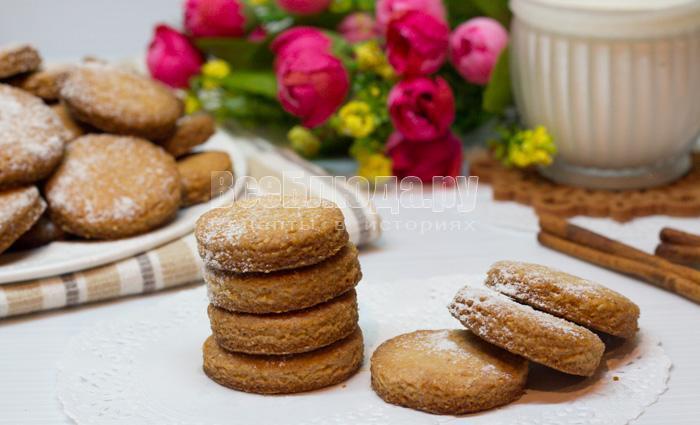 готовое печенье из овсяной муки