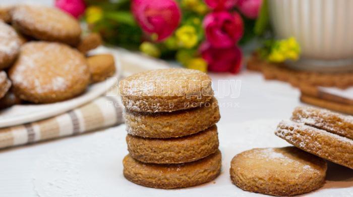 рецепт печенья из овсяной муки с фото