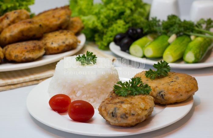 рецепт рыбных котлет с фото