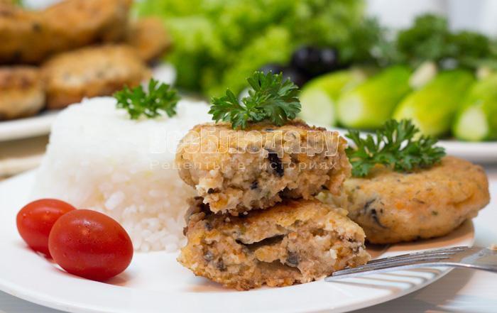 рецепт рыбных котлет из семги с фото
