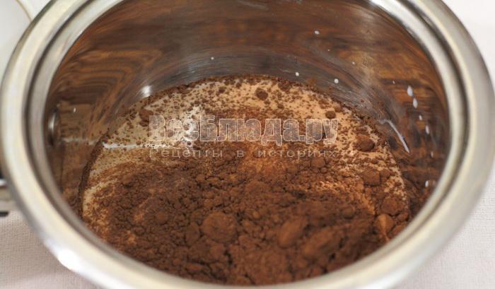 приготовить шоколадную глазурь