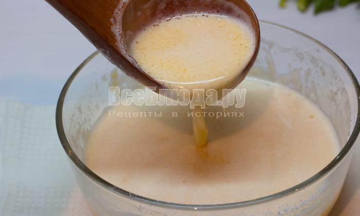 готовое тесто на блины