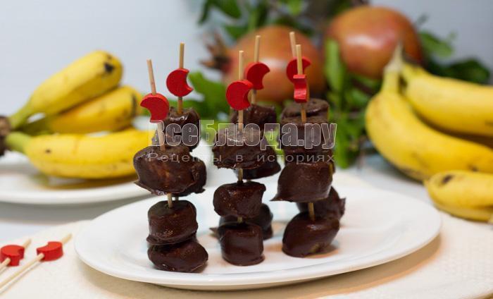 банановые конфеты рецепт
