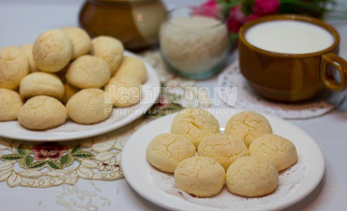 готовое печенье из рисовой муки