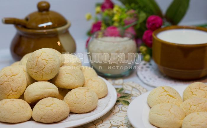 рецепт рисового печенья