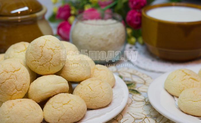 печенье из рисовой и кукурузной муки